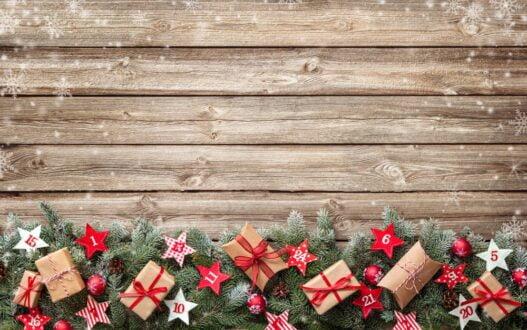 Små gaver i julekalender til ham